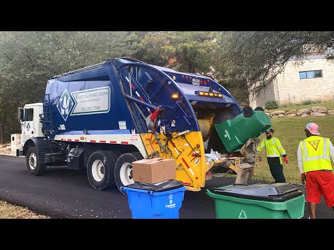 Austin Area Garbage Truck Compilation