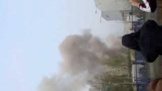 Elektrownia Konin 5 komin bada bum