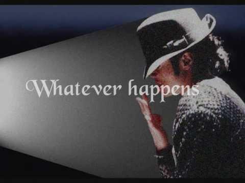 Michael Jackson ft. Carlos Santana - Whatever Happens (Lyrics)