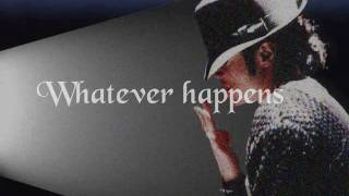 Michael Jackson ft. Carlos Santana - Whatever Happens (Lyrics)