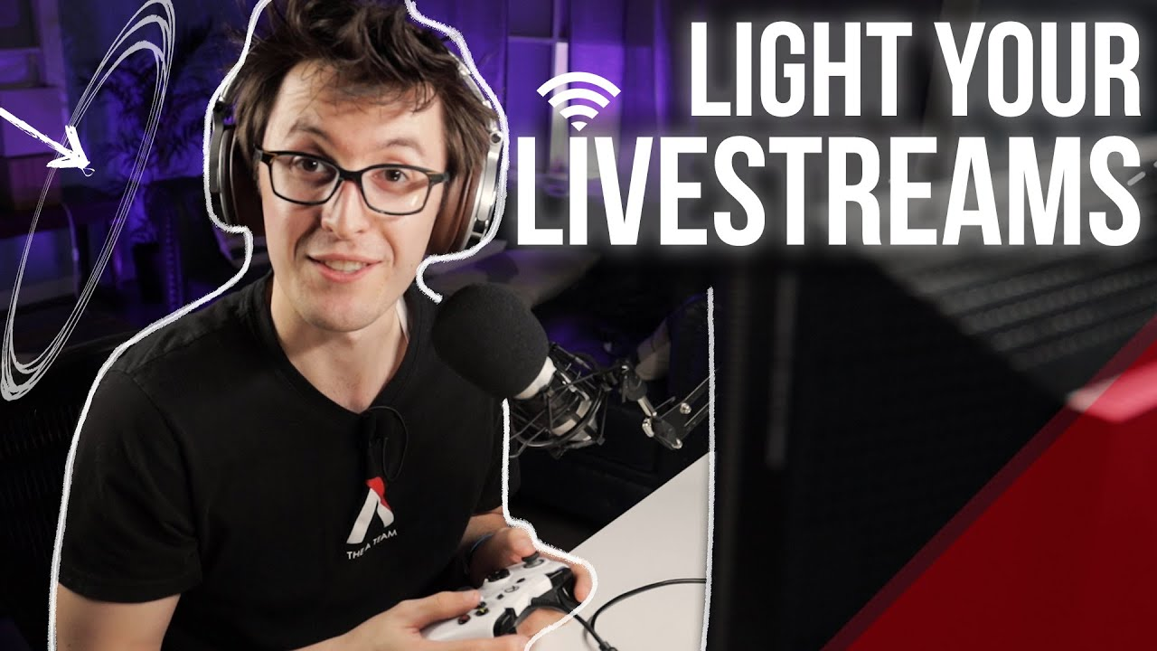 LIVE STREAMING 101 | Lighting Like A PRO