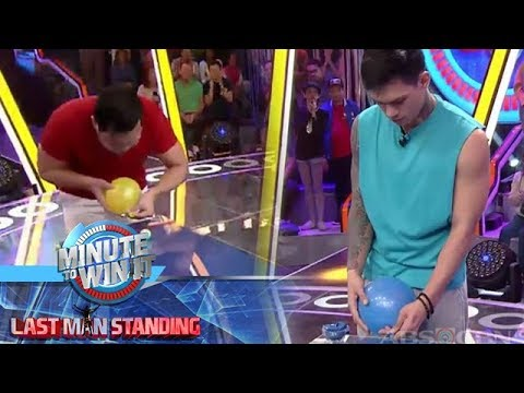 Sticky Pong | Minute To Win It - Last Man Standing