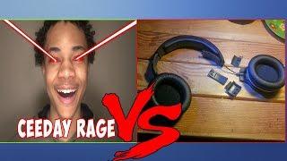 Ceeday Broke His Headset AGAIN (FORTNITE RAGE MOMENTS)