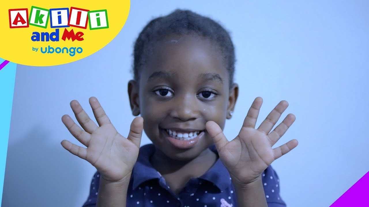 Count Your Fingers   Learn to Count with Akili   Cartoons from Africa for Preschoolers
