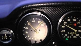 Разгон на газу ВАЗ 2106, мотор 1.6, с.ж. 11, ГБЦ пилена, облегчён маховик.