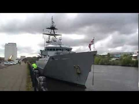HMS Tyne Outbound 7 May 2010