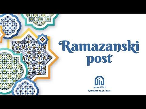 RAMAZANSKA PITANJA: RAMAZANSKI POST