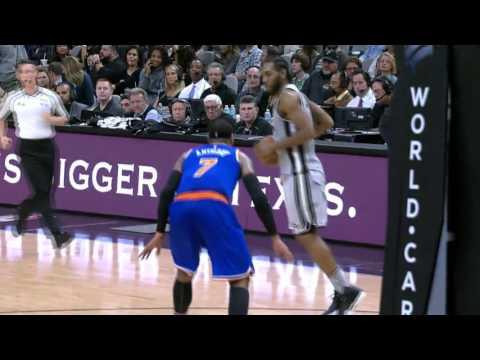 New York Knicks vs San Antonio Spurs | January 8, 2016 | NBA 2015-16 Season