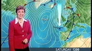 Repeat youtube video BBC Weather 31st January 2005