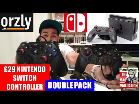Orzly Nintendo Switch Wired Pro Controller Review | TWIN PACK | ONLY £29 | v5.0.0 Firmware Update
