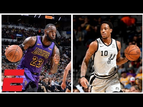 DeMar DeRozan outduels LeBron James as Spurs rally to beat Lakers | NBA Highlights