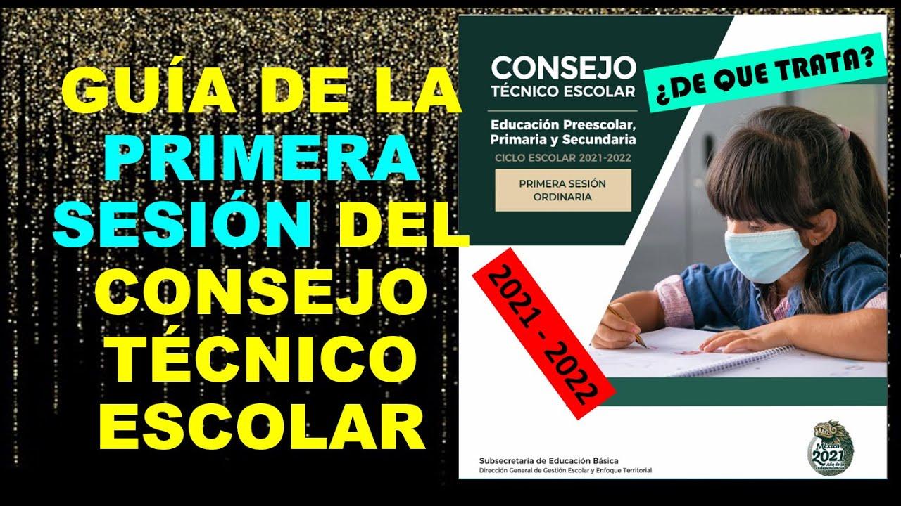 Download Soy Docente: GUÍA DE LA PRIMERA SESIÓN DEL CONSEJO TÉCNICO ESCOLAR 2021 - 2022 // ¿DE QUÉ TRATA?