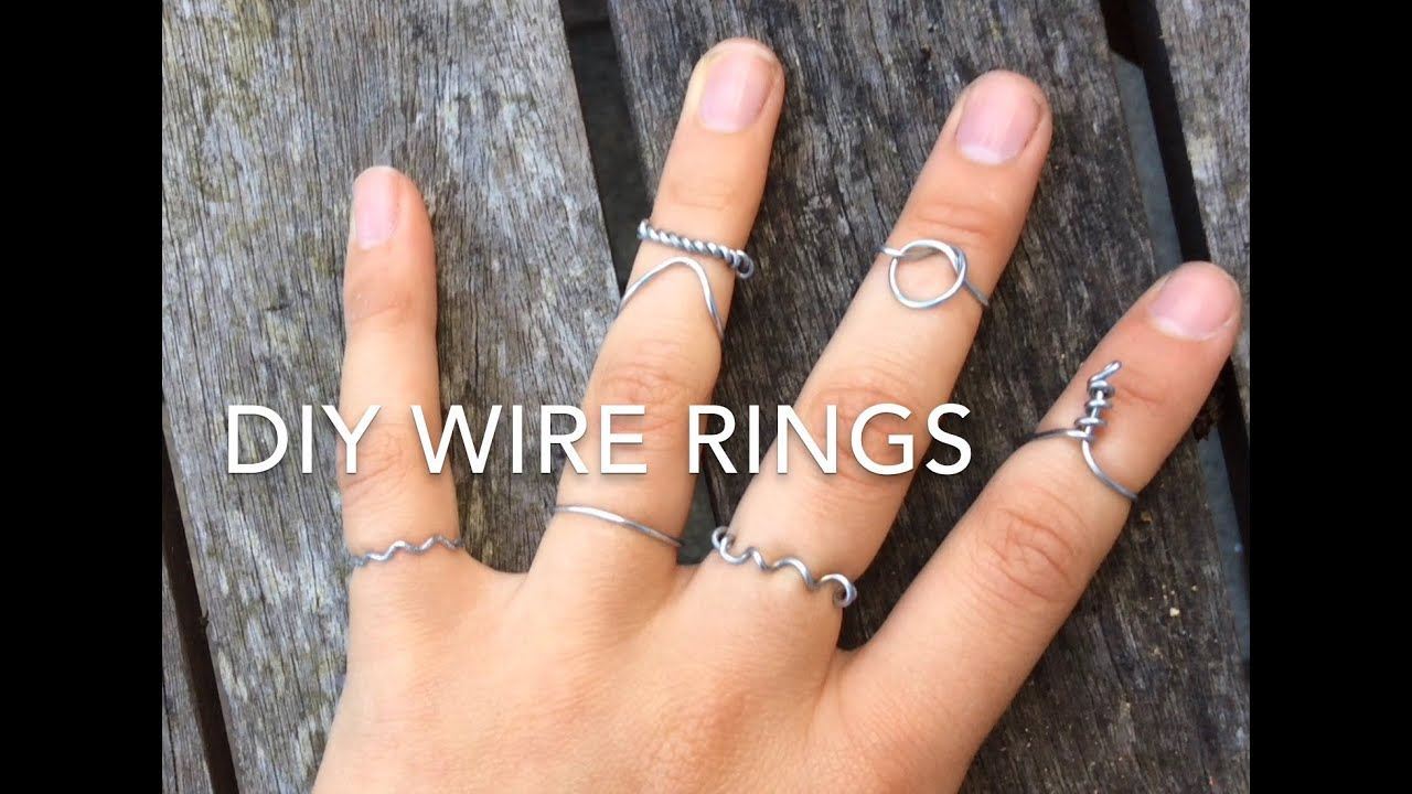 Diy wire rings cheap easy creative jewellery gifts youtube diy wire rings cheap easy creative jewellery gifts solutioingenieria Image collections