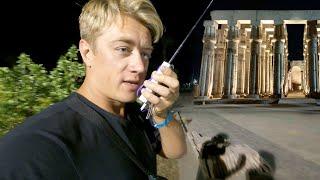 ЛУКСОР Карнакский храм ночью Ужин в отеле Steigenberger Resort Achti Египет