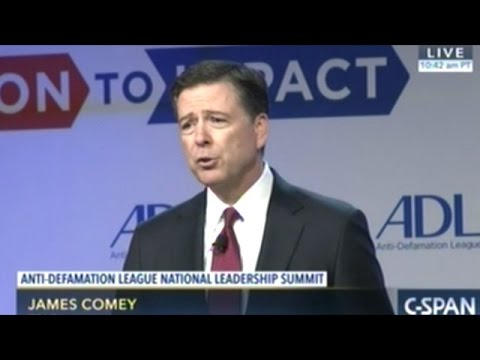 """FBI Director Comey """"Hate Crime Is Different From Other Crimes"""""""