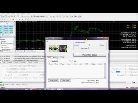 Simple forex tester mt4 ea tfsa investment account comparison