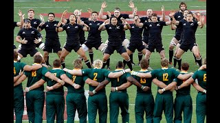 Springbok vs All Blacks 2k18 | National anthem and Haka