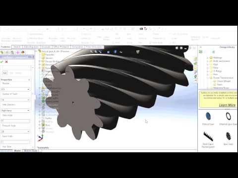 how to use solidworks toolbox