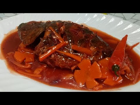 Sweet And Sour Tilapia L How To Cook Sweet And Sour Tilapia