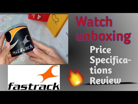 Fastrack Smart Watch Unboxing - Price, Specifications, Features ⚡ ⚡⚡