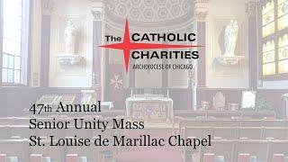 Catholic Charities Senior Unity Mass