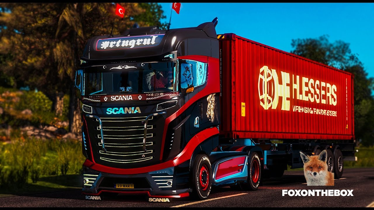 Reworked Scania R1000 | Euro Truck Simulator 2 (ETS2 1.28 Mod) - YouTube