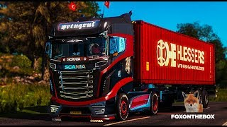 Reworked Scania R1000 |  Euro Truck Simulator 2 (ETS2 1.28 Mod)