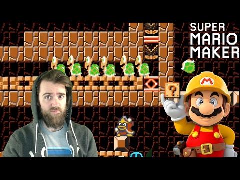 100 Mario No Death Masochist Challenge - Super Mario Maker