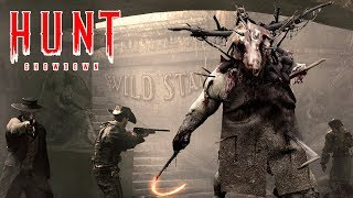 HUNT: Horrors of the Gilded Age, Hunt Showdown - test server, new map