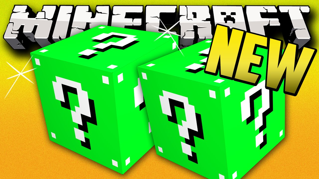 Minecraft New Lucky Block Mod Minecraft Lucky Block Ground War