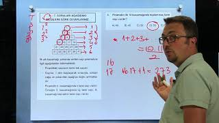 Sayısal Mantık Test 8 Sayı Yerleştirme Orijin Matematik
