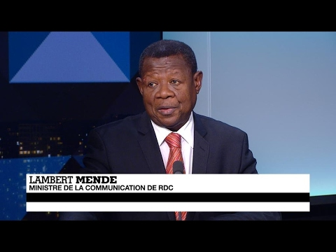 RDC : pour Lambert Mende, les désaccords de l'opposition sont à l'origine du blocage politique