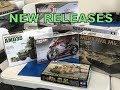 New kits from Tamiya and new upcoming build videos