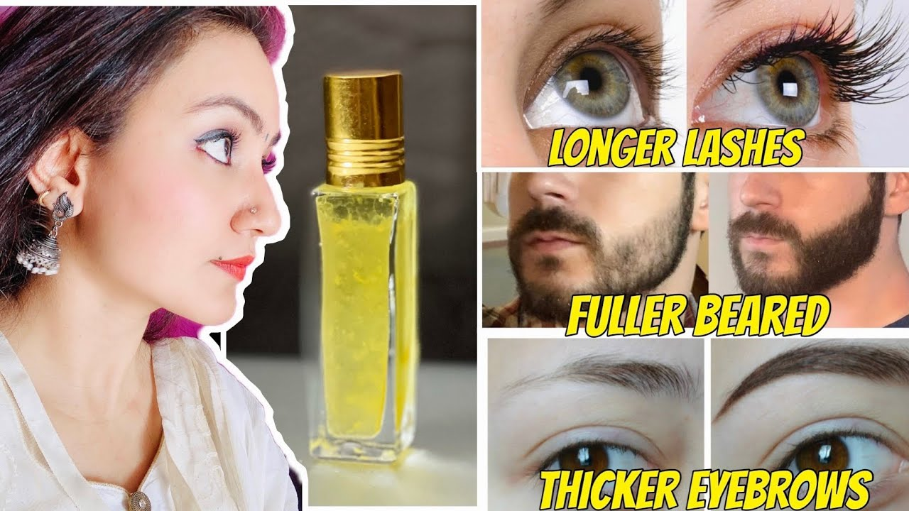 Grow THICK EYEBROWS & LONG EYELASHES Naturally & Faster in Just 14 Days