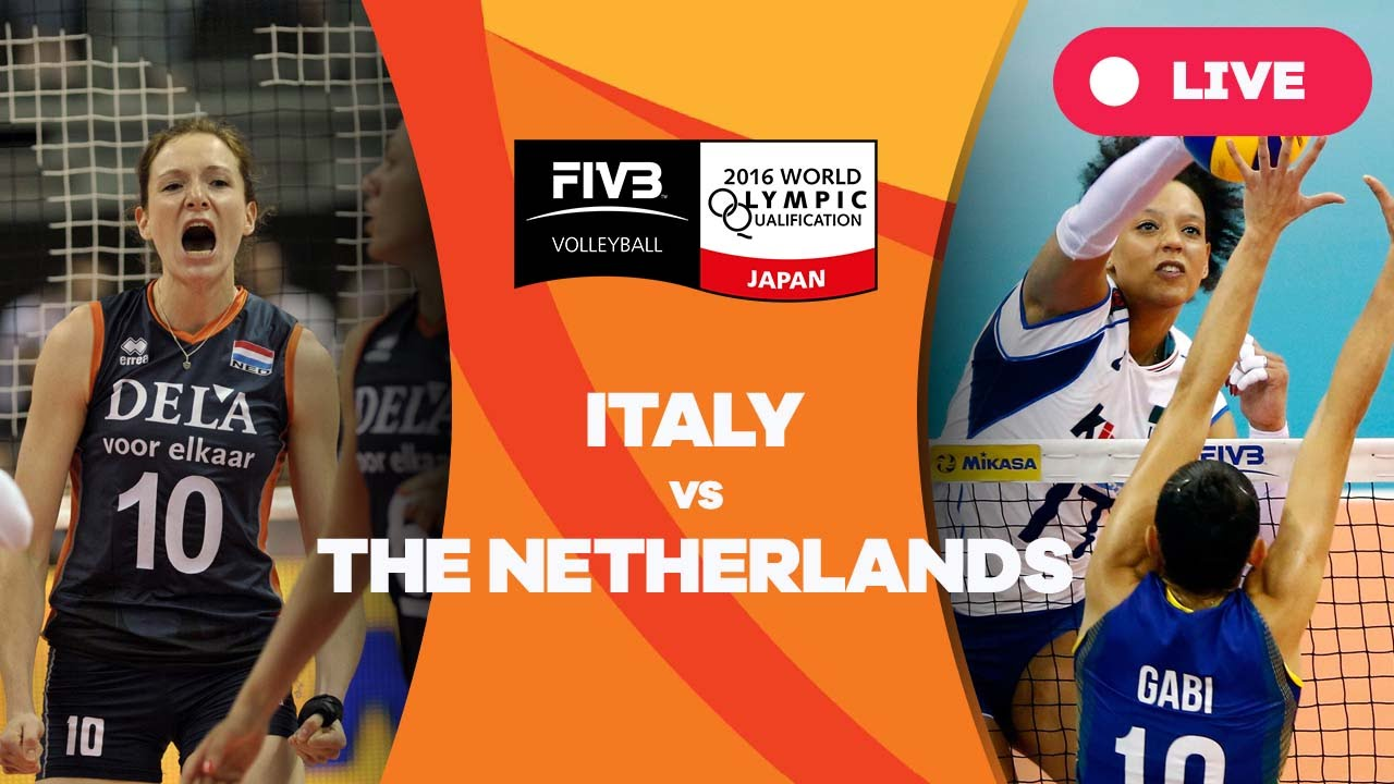 Italy v Netherlands - 2016 Women's World Olympic Qualification Tournament