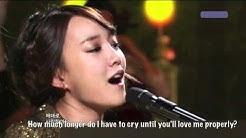 YOUNHA - Broke Up Today (Dec 31, 2010) Eng Sub