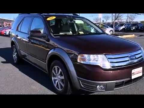 2009 ford taurus x sel third row seating package youtube. Black Bedroom Furniture Sets. Home Design Ideas
