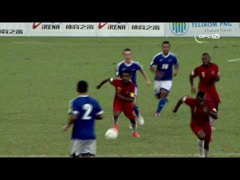 2016 OFC NATIONS CUP | Samoa vs Papua New Guinea