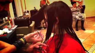 Стрижка на длинные волосы,каскад.Cortes de pelos mas largo.Hair.(, 2015-06-09T00:41:51.000Z)