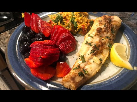 Catfish Catch-and-cook: Pan Fried Catfish As Part Of A Healthy Brunch