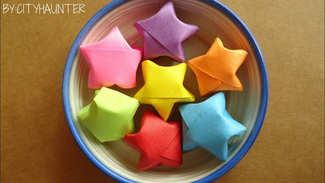 Como hacer estrellitas de papel youtube - Estrellas de papel ...