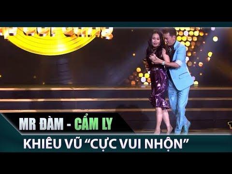 Mr Đàm , Cẩm Ly khiêu vũ vui nhộn trên sân khấu   Cặp đôi vàng Tập 3