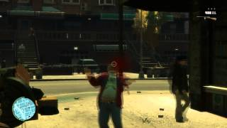 Gta 4 Killing people in slow motion and other stuff HD