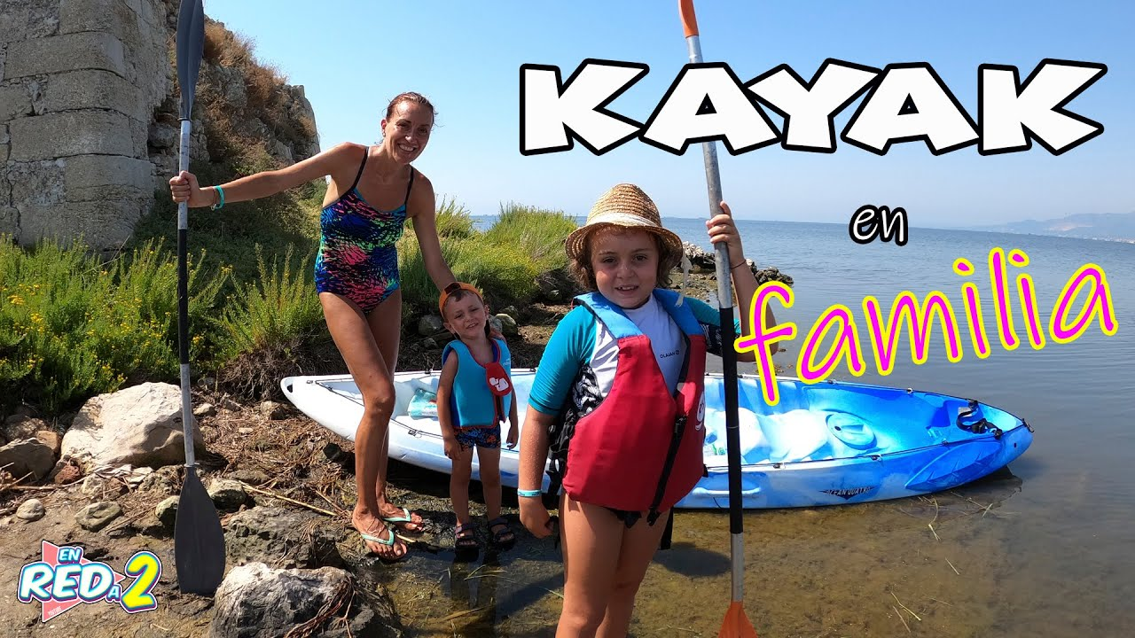 Hacemos KAYAK en FAMILIA por el Delta del Ebro | Enreda2