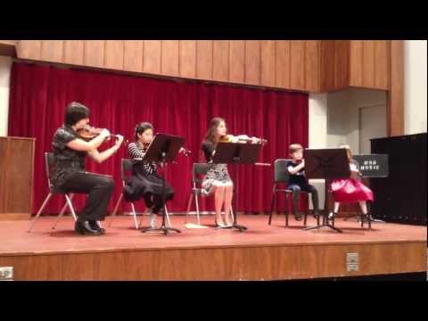 MSU String Project Fall Ensemble Song 2