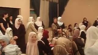 На свадьбе в Иордании