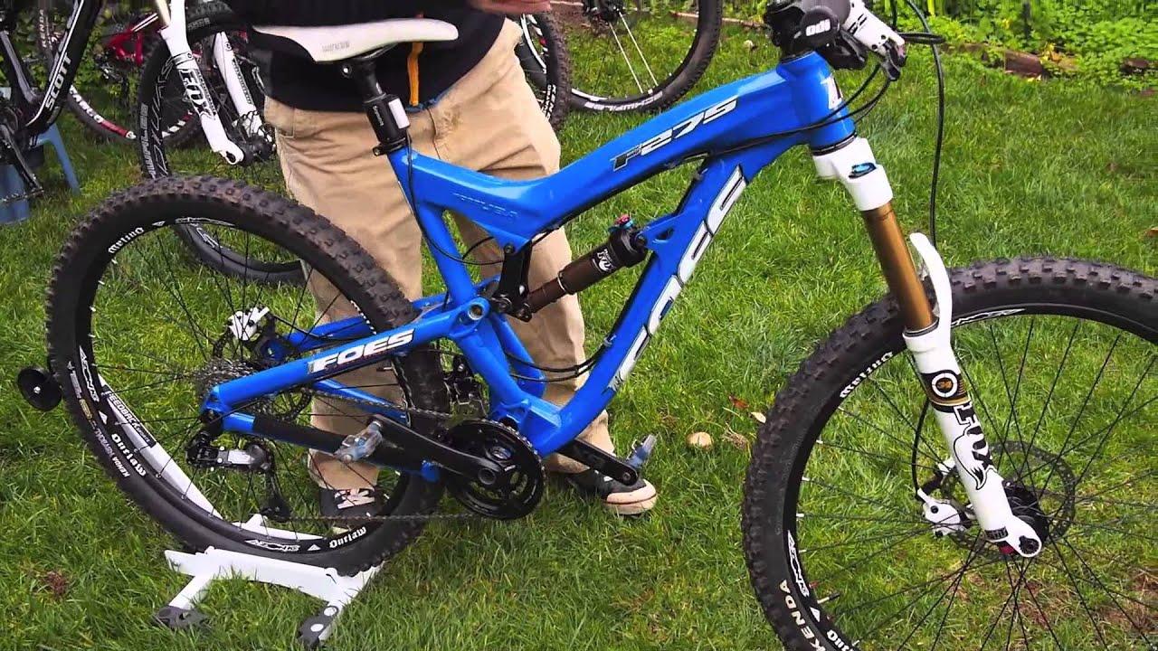 Foes F275 650b 27 5 Mountain Bike Youtube