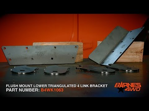 Double Triangulated 4 Link Kit