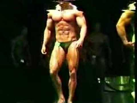 Carlos Ariss 1984 Nationals bodybuilding competition