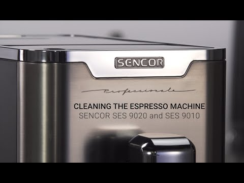 Cleaning the Espresso Machine Sencor SES 9020 and SES 9010